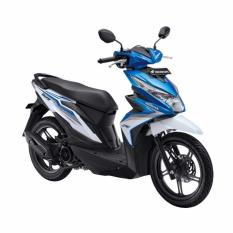 Honda All New BeAT eSP FI Sporty CBS ISS Electro Blue White OTR Denpasar