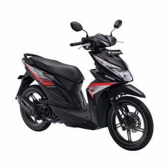 Honda All New BeAT eSP FI Sporty CW - Hard Rock Black- OTR JawaBarat ...