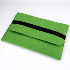 Horizontal Desain Fashion Multifungsi Case Tas Laptop untuk Apple MacBook 12 Inches (hijau)