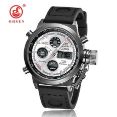 Hot Selling Original Famous Brand OHSEN Digital Sport Mens WatchJam Tangan Male Clock Nylon Band Fashion
