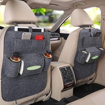 HW Car seat organizer Tas Belakang Jok Mobil Multifungsi