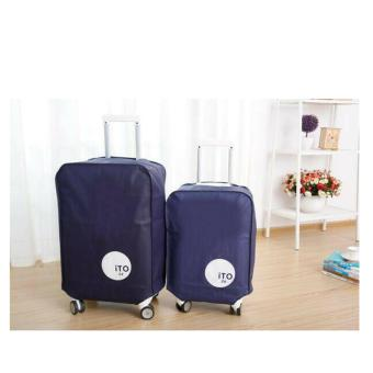HW Cover Koper 20inch Luggage Bag Cover - Blue Navy