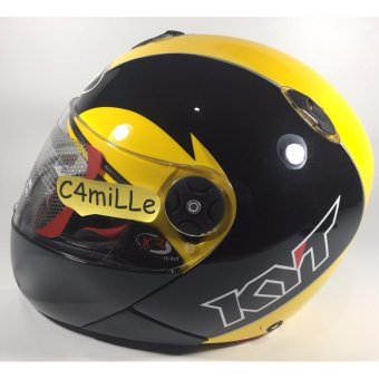 Harga Helm Full Face KYT X Rocket / Xrocket Black Yellow