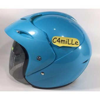 Harga Helm HIU Nico LIGHT BLUE