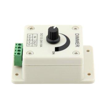 Lihat 1 Buah 12-24 V 8 Amp Yang Dapat Lampu LED Strip Kontrol Kecerahan