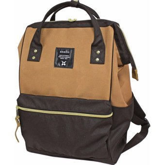 Harga 【Ship from Japan】[Anello] Backpack Sucket Backpack AT-B0193A       Beige × Black - intl