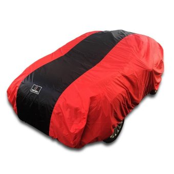 "Harga Toyota Agya ""Durable Premium"" Wp Car Body Cover / Tutup Mobil / Selimut Mobil Red Black"