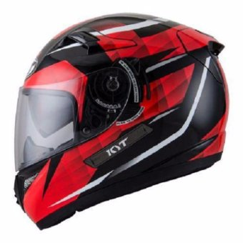 Harga Helm KYT K2 Rider Diamond Black Red