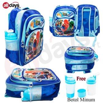 KECIL 3 DIMENSI UKURAN 28X33X10 CM FREE BOTOL MINUM. Source · Alldaysmart .