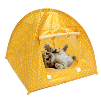 Harga Soft Outdoor Foldable Kennel Pet Kitten Cat Bed Camp Tent Puppy Dog Play House
