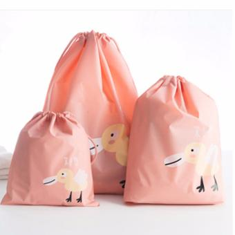 Harga Drawstring Travel bag Lingerie swimwear Toy Storage Bags Small Pocket Waterproof Essential Storage Bag Sorting Packing Bags