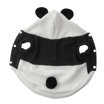 Harga new Cute Fleece Panda Clothes Warm Coat Costume Outwear Apparel for PET pet dog Cat CATL