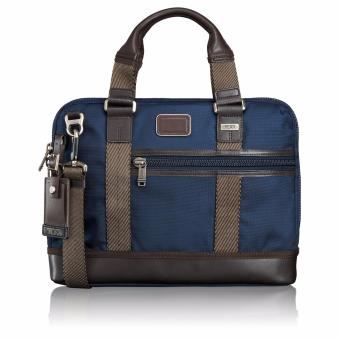 Harga TUMI Earle Compact Brief (Blue Navy)