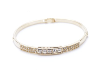 Harga Eyo Jewelry Deana Gold Bangle