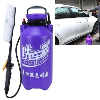 Harga 11L Portable Multi-function Car Auto Wash Brush Washing Machine With High-pressure Retractable Long Handle Water Flow Switch And Bottle - intl