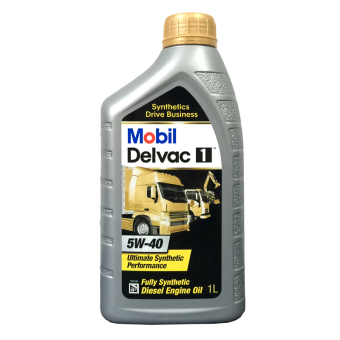 Harga Mobil Delvac 1 5W-40 Full Synthetic Diesel Engine Oil 1L