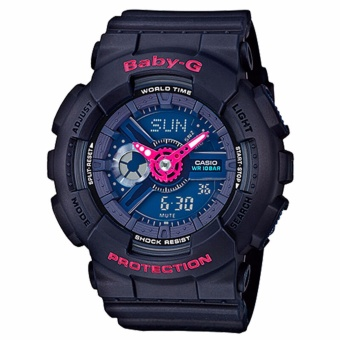 Harga Casio Baby-G Series BA-110 Punching Pattern Series BA-110PP-2A Women's/Ladies Gift for Women/Girl/Ladies - intl