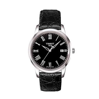 Harga Tissot Watch Classic Dream Black Stainless-Steel Case Leather Strap Mens SWISS NWT + Warranty T0334101605301