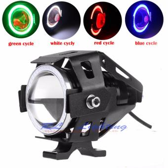 Harga Led Lampu Sorot Cree Transformer U7 Angel eye + Demon eye