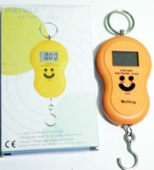 Mawar88Shop Timbangan Gantung Digital Portable Electronic Scale 40 KG