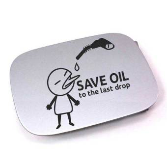 Harga Tokomonster Stiker Save Oil Car Fuel Cover Sticker Decal