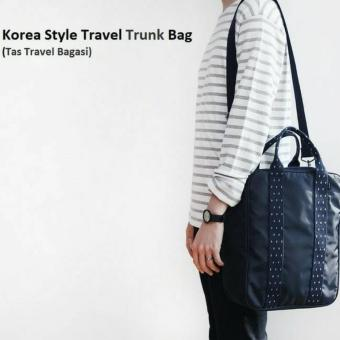 Harga D'Cheryl Style Travel Trunk Bag - Biru Tua