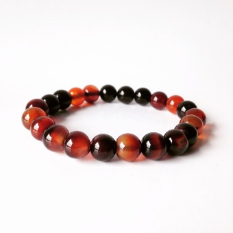 Harga Bluedogproject Bracelet Big Fire Stone (Brown)