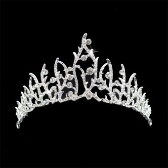 Eegantuxuriou Diaante Rhinsetone Crown Wedding Party Bride Gift New. Source. ' Women Bride Luxury