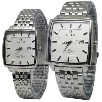Cek Harga Alfa Watch Slim Alf225 Jam Tangan Pria Strap Stainless Source · Alfa watch ALF099