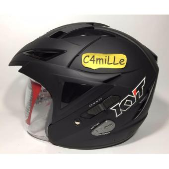 Harga Helm KYT Scorpion King Double Visor black dop