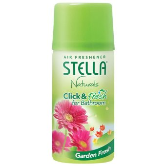 Harga Stella Click & Fresh Bathroom Set Garden Fresh - 40ml
