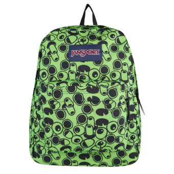 Harga JanSport Superbreak - Zap Green Double Vision