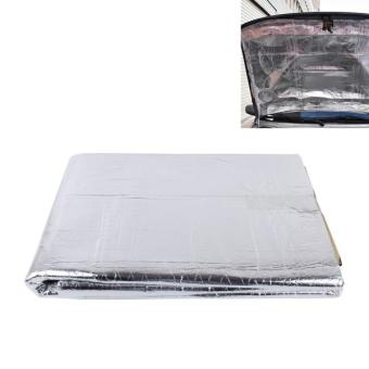 Harga Car Auto Exhaust Muffler Heat Sound Deadener Insulation Mat Pad Waterproof - intl