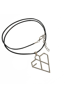 Harga HomeGarden Exo-K Xoxo Wolf Alloy Necklace Silver