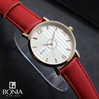 ... Cokelat Rosegold Leather Strap Bnb10254 1545 Source · Harga Bonia BNB10254 1545 Jam Tangan Pria Leather Strap Brown Ring Source Bonia Jam tangan