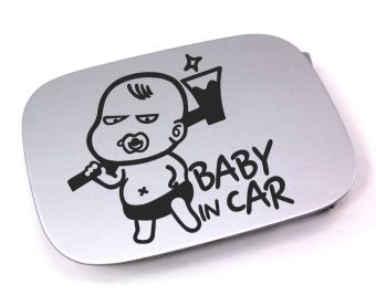 Harga Tokomonster Stiker Baby In Car Fuel Cover Sticker Decal