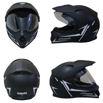 Harga Yamaha Helm Full Face Xabre (black doff) - Helm Yamaha Full Face Xabre - Helm Full Face