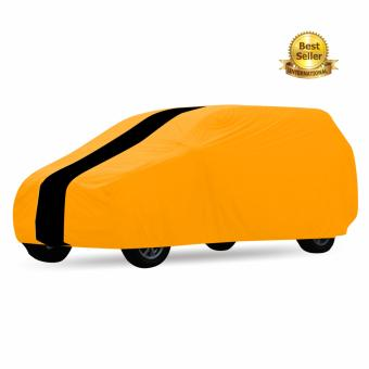 Harga Cover Mobil Khusus Toyota Sienta Orange Strip Hitam