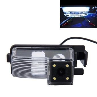 Harga 720×540 Effective Pixel PAL 50HZ / NTSC 60HZ CMOS II Waterproof Car Rear View Backup Camera With 4 LED Lamps For Nissan LIVINA - intl