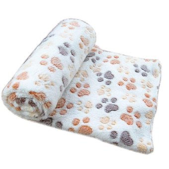 Harga Soft Warm Pet Fleece Blanket Bed Mat Pad Cover Cushion For Dog Cat Puppy Animal - intl
