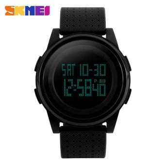 Harga SKMEI Brand Men's LED Electronic 5ATM Waterproof Outdoor Sport Digital Wristwatches - intl