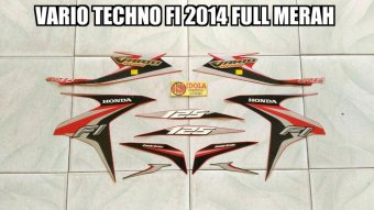 Harga Striping Vario Techno Fi 2014 Full Merah