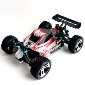 Harga WLToys A959 Vortex 1/18 Scale 2.4G 4WD Electric RTR RC Car Off-Road Buggy 50km