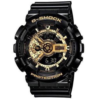 Harga Casio G-Shock GA-110GB-1A Men's Watch - Black/Gold