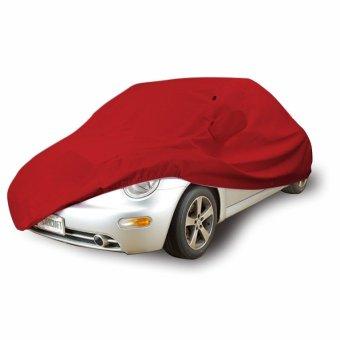 Mantroll Cover Mobil Honda Brio Merah