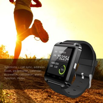 Harga Makiyo Sport U8 Bluetooth Smart Watch - intl