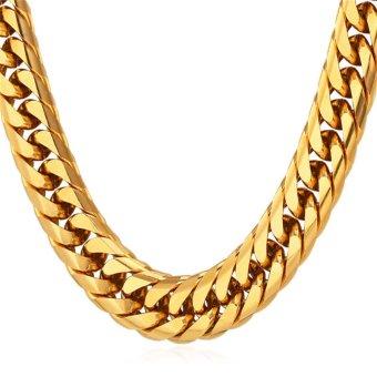 ... Berlian Imitasi 18 Karat Berlapis Emas Kalung Source Belanja Online Lingkaran 2pac Berlapis