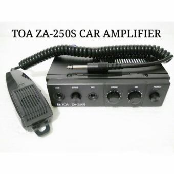 Harga TOA Car Amplifier + Microphone / Amplifier Mobil Patwal-Ambulance ZA-250S