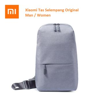 Xiaomi Minimalist Bag Tas Selempang Xiaomi Small Size Shoulder Type Unisex Backpack with 4L Capacity School