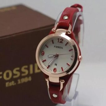 Hegner Hg 1247 Jam Tangan Wanita Stainless Steel Rosegold Daftar Source · FOSSIL jam tangan wanita
